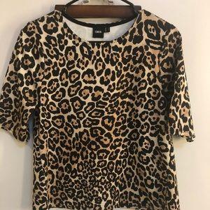 ASOS leopard blouse US 4 (XS/S)